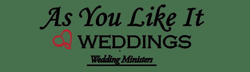 As You Like It Weddings Logo